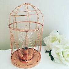 Dome Geometric Table Light Copper