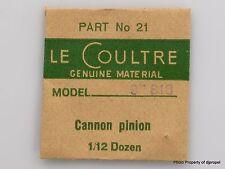 Jaeger LeCoultre Cannon Pinion Cal. 818 Part #240 21