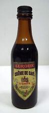 Miniature Liqueur Creme de Cafè LEROUX