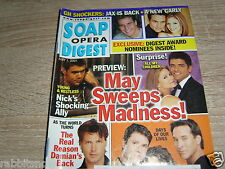 SOAP OPERA DIGEST 5/2001 Kirsten Storms & Farah Fath~Sarah Buxton~Molly Stanton