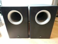 2x Canton AS10 Subwoofer Aktiv Schwarz
