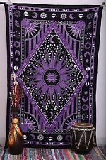Indian Tapestry Wall Hanging Mandala Throw Hippie Bedspread Gypsy Twin-Blanket*