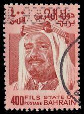 "BAHRAIN 236 (Mi257) - Sheik Isa  al Khalifah ""Red Brown""  (pa50226)"