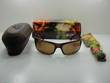 MAUI JIM PEAHI POLARIZED H202-10 SUNGLASSES TORTOISE FRAME/HCL BRONZE LENS, NEW!