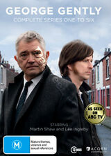 Inspector George Gently Complete Series 1-6 NEW PAL Cult 13-DVD Set Martin Shaw