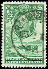 Scott # 124 - 1938 - ' George VI, Cattle and Baobab Tree '