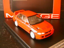 MITSUBISHI LANCER EVO II 2 GSR MONACO RED HPI RACING 8559 1/43 ROT ROSSO ROUGE