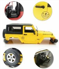 New Yellow Hard Plastic BODY SHELL Kit For 1:10 RC Model Climbing Car Land Rover