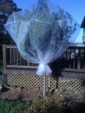 3-pack Fruit Tree Nets 2m cube tent, protect from pests inc fruit fly/birds/bats