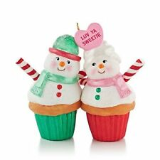 "2013 Hallmark ""A Couple of Cupcakes"" Ornament - Sweetie - Love Relationship NIB"