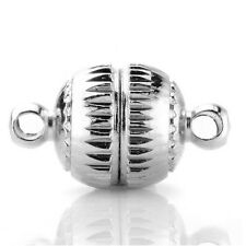 8mm*20sets Strong Magnetic Jewelry Clasps Finding Bead For Charming Jewelry UKSK