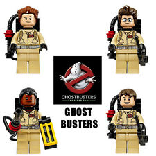 4pcs Ghostbusters Dr. Raymond Dr. Peter Winston Egon Blocks Minifigures Kids Toy