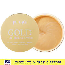 [ PETITFEE ] Gold Hydrogel Eye Patch 60 Patches (30 Uses) +Free Sample+