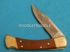 VINTAGE ALFRED C BUCK 110 USA KNIVES LOCKBACK FOLDING HUNTER BOWIE KNIFE POCKET