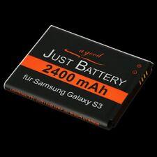 2400 mAh Akku für Samsung GT-i9300 Galaxy S3 III EB-L1G6LLU Accu Acku battery