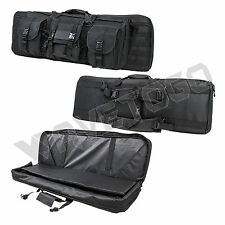 "VISM NcSTAR Tactical 36"" Padded Double Carbine Rifle Weapons Gun Case Bag Black"