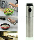1pc Stainless Steel Olive Pump Spray Fine Bottle Oil Sprayer Pot Cooking Tool