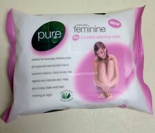 Pure Intimate Feminine Wipes PACK OF 25 Complete Cleansing Hygiene FAST DELIVERY