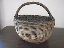NICE VINTAGE WILLOW BASKET