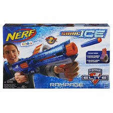 NERF N-Strike Elite Rampage Sonic Ice Series Blaster ~ NEW Toy Dart Gun