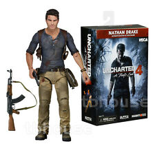 "7"" NATHAN DRAKE figure UNCHARTERED 4 a thief's end ULTIMATE EDITION neca PS4"