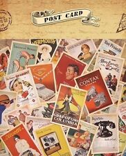 UK Lot of 32 Mixed Vintage Retro Advertising Movie Travel Postcards Post Cards