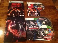 Tekken 6 & Tag Tournament 2 Ultra Rare Steelbook Editions Xbox 360 VGC G1 UK