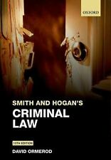 Smith and Hogan Criminal Law-ExLibrary