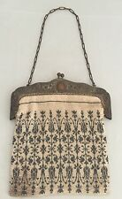 Gorgeous Antique Micro Beaded Evening Bag Purse