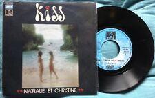 "NATHALIE ET CHRISTINE / KISS (part I & II) - 7"" (Italy 1976) EX/VG"