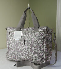 LeSportsac Patchouli Floral 7532 Ryan Large Baby Bag Tote