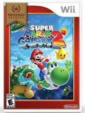 NINTENDO WII GAME SUPER MARIO GALAXY 2 SELECTS BRAND NEW AND SEALED