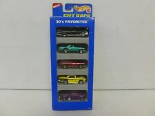 Hot Wheels 5 Car Gift Pack 50's Favorites w/57 Chevy 248