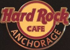 Hard Rock Cafe ANCHORAGE 2014 Classic HRC Logo PIN - Catalog #78908 Hot New!