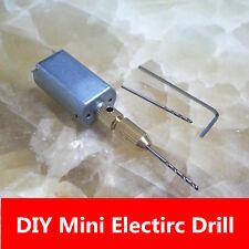 dremel mini drill DIY tools PCB drilling tools machine with chucks accessories