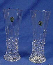 2 Waterford Crystal Pilsner/Beer Glasses LISMORE NIB!