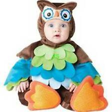 Incharacter 4pc What A Hoot Owl Plush Halloween Costume- 6 /12 M or 12/18 M NEW