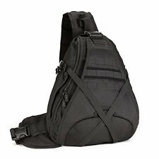 SUNVP Tactical Military Sling Chest Pack Bag Molle Daypack Laptop Backpack La...
