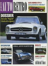 AUTO RETRO n°170 Octobre 1994 MERCEDES 170 CD 204 PEUGEOT TIRUMPH GT6