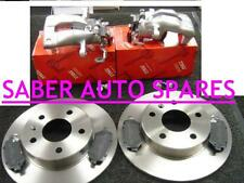 VAUXHALL ASTRA MK4 GSI SRI REAR BRAKE PACKAGE CALIPERS DISCS AND PADS SET