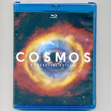 COSMOS SpaceTime Odyssey 2014, new Blu-ray 4-discs, over 9 hours, science, Tyson