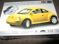 TESTORS YELLOW DIECAST 1/24TH SCALE VOLKSWAGEN  BEETLE MODEL # 213 AS LISTED