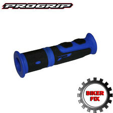 ProGrip 964 ATV QUAD Grips Blue & Black 120mm Length Yamaha Gruin Blaster Raptor