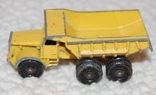 Vintage Early Euclid Lesney Yellow Dump Truck No. 6 #6 Made in England Matchbox