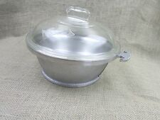 Vintage Guardian Service Pot Glass Lid 3 quart/12 Cups Roaster Stock Dutch Oven