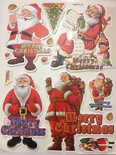 3D Foam Children's Stickers CHRISTMAS SANTA PARTY REWARD CRAFT CARD SCRAP BOOK