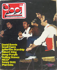 CIAO 2001 45 1974 NCCP David Bowie Small Faces Rolling Stones Albert King Ochs