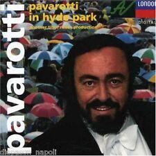 Luciano Pavarotti: In Hyde Park - CD Decca