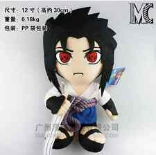 NARUTO Uchiha Sasuke Stuffed Figure Anime Plush Doll 12''