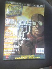 THE GAMES MACHINE 139 Gennaio 2001 RESIDENT EVIL 3 GUNMAN COLIN MCRAE RALLY 2
